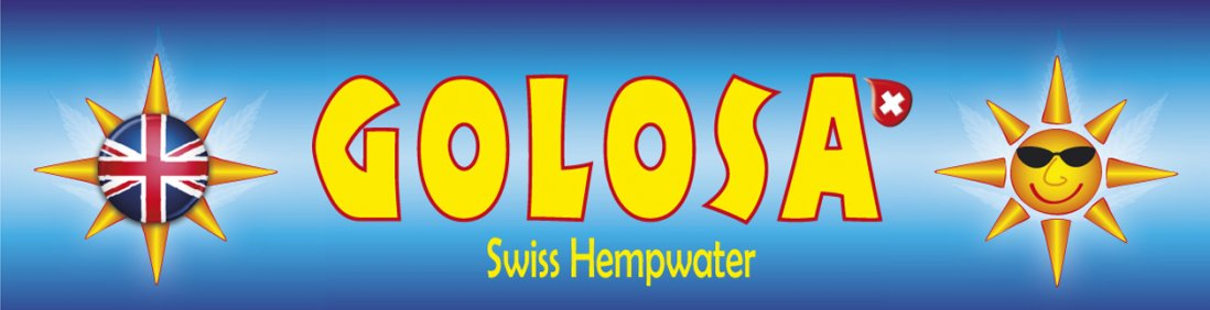 Golosa Swiss Hempwater english