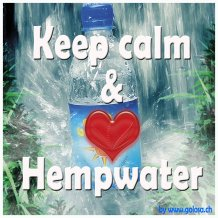 Keep calm & love Hempwater
