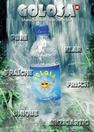 Titelbild Flyer GOLOSA frisch - klar - einzigartig!