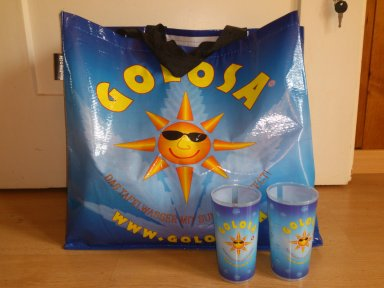 GOLOSA-Bag made of remanufactured PET