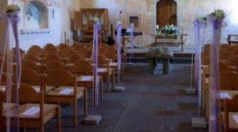 Blumenständer Hochzeit Kirche