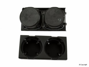 Cupholder in center console (black)