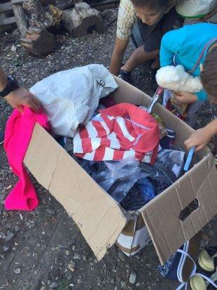 Spenden an ein Kinderheim in Rumänien