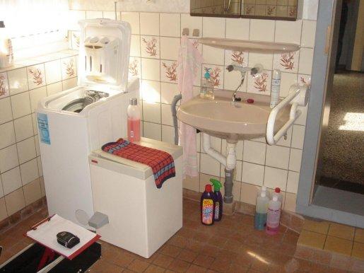 Waschplatz vor der Badsanierung