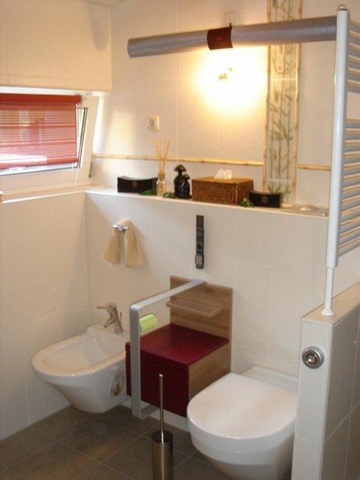 Badsanierung mit WC und Bidet von V&B