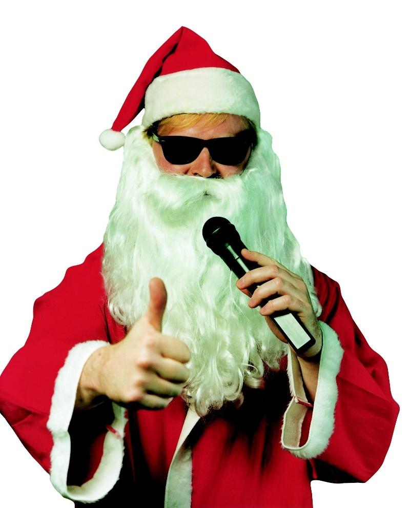 Comedy-Kellner Frankfurt Singender Weihnachtsmann Weihnachtsfeier
