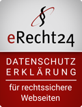 eRecht24-Siegel - Datenschutzerklärung