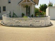 Zaun aus Kunststoff