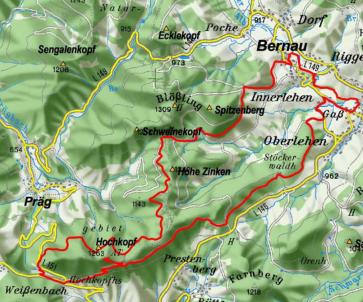 Premiumwanderweg Hochtalsteig Bernau im Schwarzwald