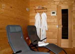 For our guests we offer a log cabin sauna
