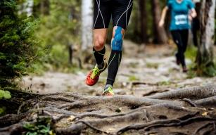 Entlastung beim Joggen und Laufen durch Kinesio-Tapes