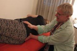 CS-Behandlung schwangere Frau