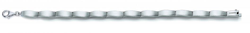 Bracelet aus rhodiniertem Silber