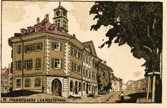 Das Choufhüsi um 1895