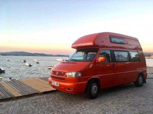 VW Bus in Spanien mieten