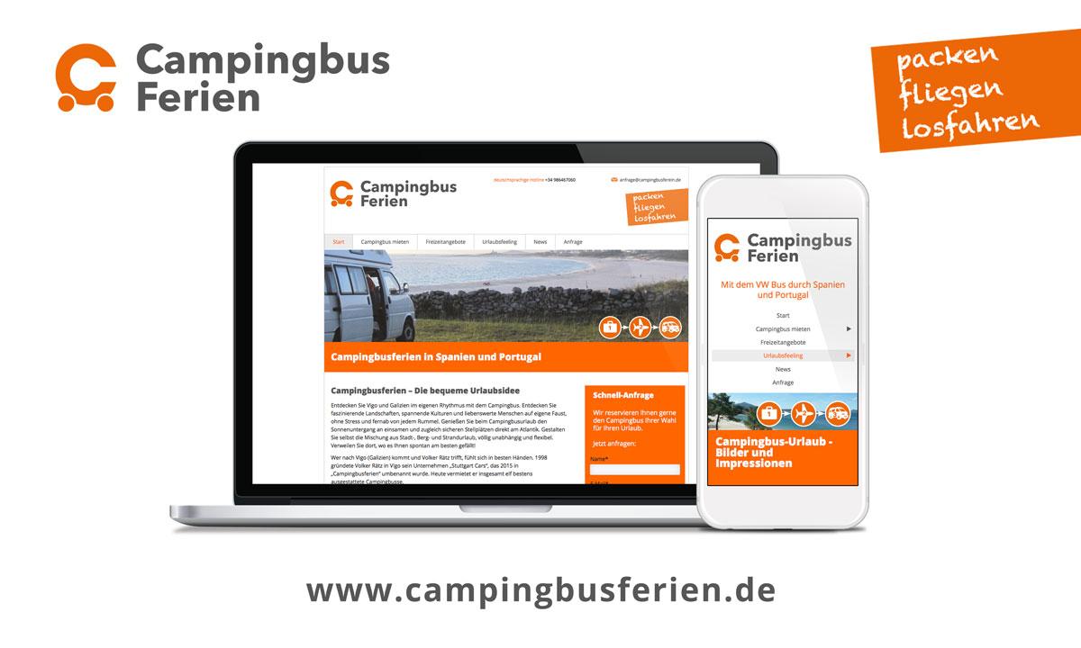 Campingbus mieten - Campingbusferien.de im neuen Erscheinungbild