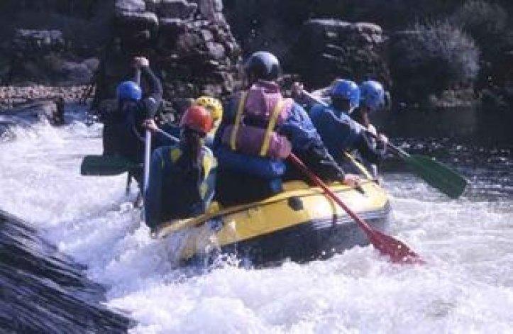 Rafting in Spanien - Campingbus mieten und los