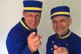 Blaue Pagen Uniform