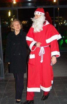 Weihnachtsfeier Begrüßung